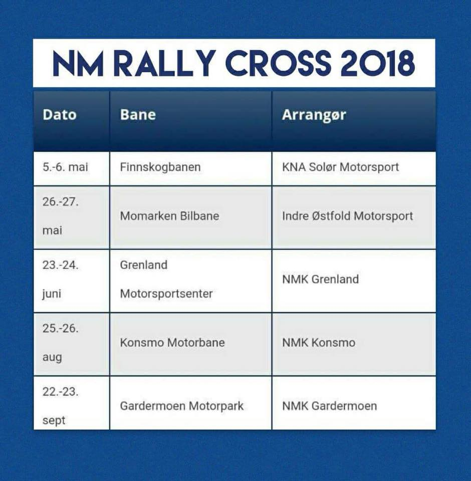 NM Rallycross 2018